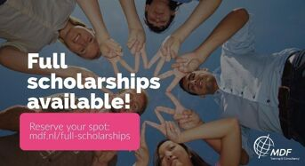 Full Scholarships for MDF Courses in Netherlands, 2018
