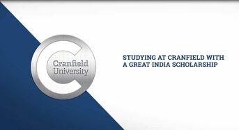 British Council India 70 th Anniversary Master Scholarship at Cranfield University in UK, 2019