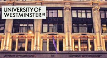 Great Start Undergraduate Scholarship for UK/EU Students at University of Westminster in UK, 2019