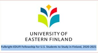 Fulbright- EDUFI Fellowship for U.S. Students to Study in Finland, 2020-2021