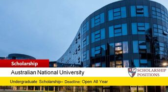 ANU College of Business & Economics International Merit Scholarship, 2019