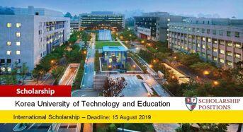 Korean Government Research Professor or Postdoctoral Scholarship, 2019