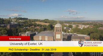 MRes Economics PhD Positionsfor International Students in UK, 2019