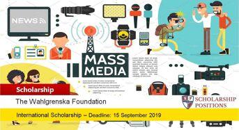 The Wahlgrenska foundation grants for International Students 2019-2020