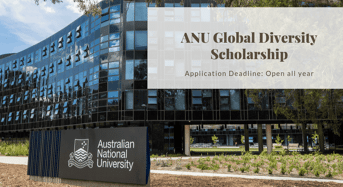 ANU Global Diversity Scholarship in Australia