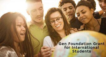 Gen Foundation Grant for International Students in UK, 2020