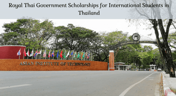 Royal Thai government awards for International Students in Thailand