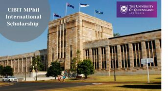 CIBIT MPhil International Scholarship in Biomedical Imaging Technology at University of Queensland, 2020