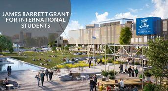 James Barrett Grant for International Students at University of Melbourne in Australia, 2020