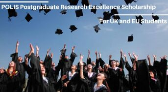 POLIS Postgraduate Research Excellence funding for UK and EU Students at University of Leeds