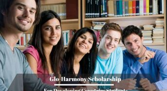 Glo-Harmonyfunding for Developing Countries Students in South Korea