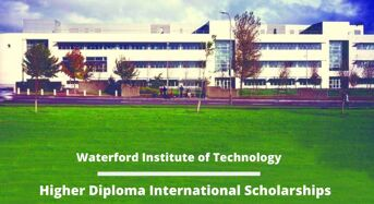 Higher Diploma international awards at Waterford Institute of Technology, Ireland