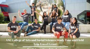 International ANU College of Arts and Social Sciences Study Tour and Field Trip Travel Grant, Australia