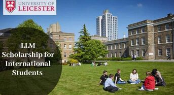 LLM funding for International Students at University of Leicester in UK, 2020