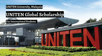 UNITEN Global Scholarship in Malaysia, 2020