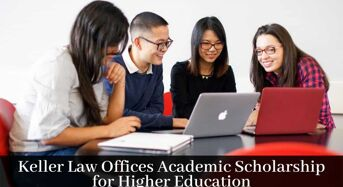 Keller Law Offices Academic funding for Higher Education in USA, 2020