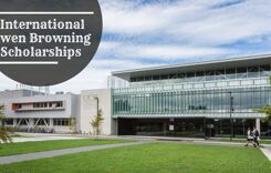 University of Canterbury International Owen Browning Scholarships in Forestry, New Zealand