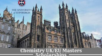 Chemistry UK/EU masters programmes at University of Edinburgh in UK, 2020