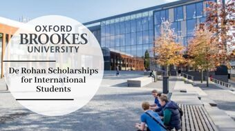 De Rohan Scholarships for International Students at Oxford Brookes University, 2020