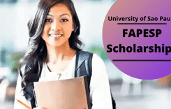 FAPESP Scholarships at University of Sao Paulo, Brazil