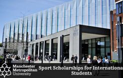 Manchester Metropolitan University Sport Scholarships for International Students in UK, 2020