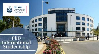 PhD International Studentship in Sustainability Assessment/CircularityModelling at Brunel University London, 2020
