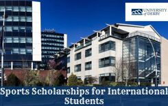 Sports Scholarships for International Students at University of Derby in UK, 2020
