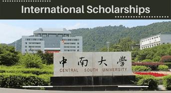 international awards at Central South University, China
