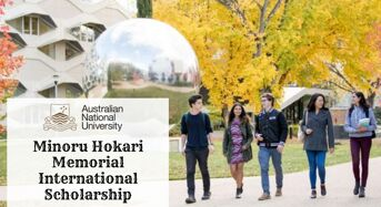 ANU Minoru Hokari Memorial International Scholarship in Australia, 2020