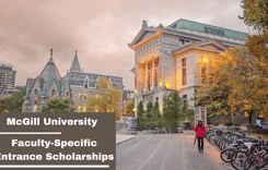 Faculty-SpecificEntrance Scholarships at McGill University, Canada