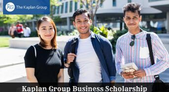 Kaplan Group Business Scholarship in USA, 2020