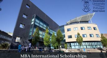 MBA international awards at Swansea University in UK, 2020