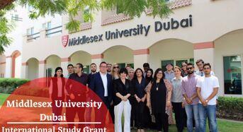Middlesex University Dubai International Study Grant in United Arab Emirates