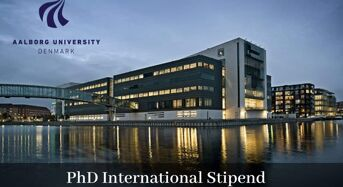 PhD International Stipend in Optimal Control of De-OilingHydrocyclones at University of Aalborg in Denmark, 2020