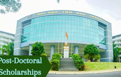 Post-DoctoralScholarships at Ton Duc Thang University, Vietnam