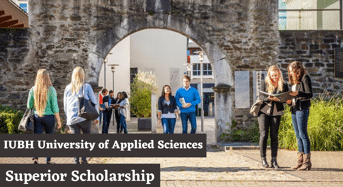 Superior Scholarship at IUBH University of Applied Sciences, Germany