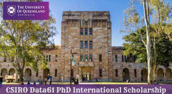 UQ CSIRO Information61PhD International Scholarship in Software Security Analytics in Australia, 2020