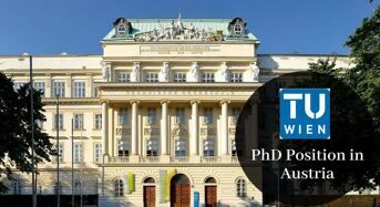 Vienna University of Technology PhD Position in Austria, 2020