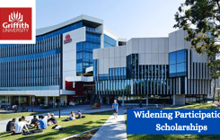 Widening Participation Scholarships at Griffith University, Australia