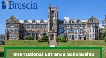 Brescia University College International Entrance Scholarship in Canada