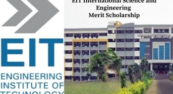 EIT International Science and Engineering Merit Scholarship, 2020