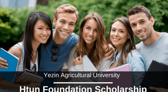 Htun foundation grant at Yezin Agricultural University in Myanmar