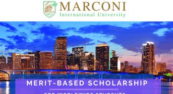 Marconi International University Merit-BasedScholarship in the USA
