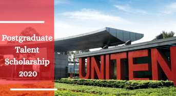 Postgraduate Talent Scholarship at UNITEN in Malaysia
