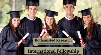 Rothamsted Research International Fellowship in UK