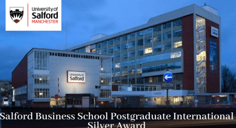 Salford Business School Postgraduate International Silver Award in UK, 2020