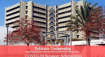 TAU International COVID-19Support Scholarship in Israel
