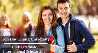 Ton Duc Thang University Undergraduate International Scholarship in Vietnam
