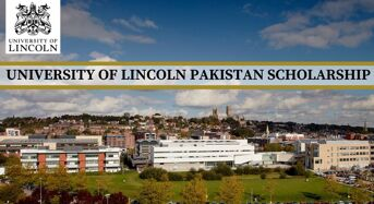 University of Lincoln Pakistan Scholarship in UK