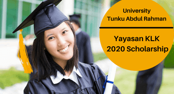 Yayasan KLK 2020 Scholarship at University Tunku Abdul Rahman, Malaysia